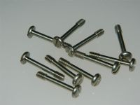 10 x M4 Screw Captive Slotted Head Stainless Steel Length 25mm [Y15]